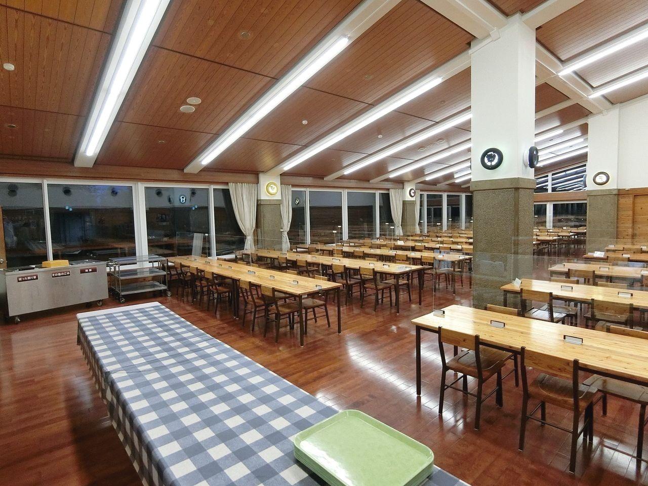 板橋区立八ヶ岳荘の食堂