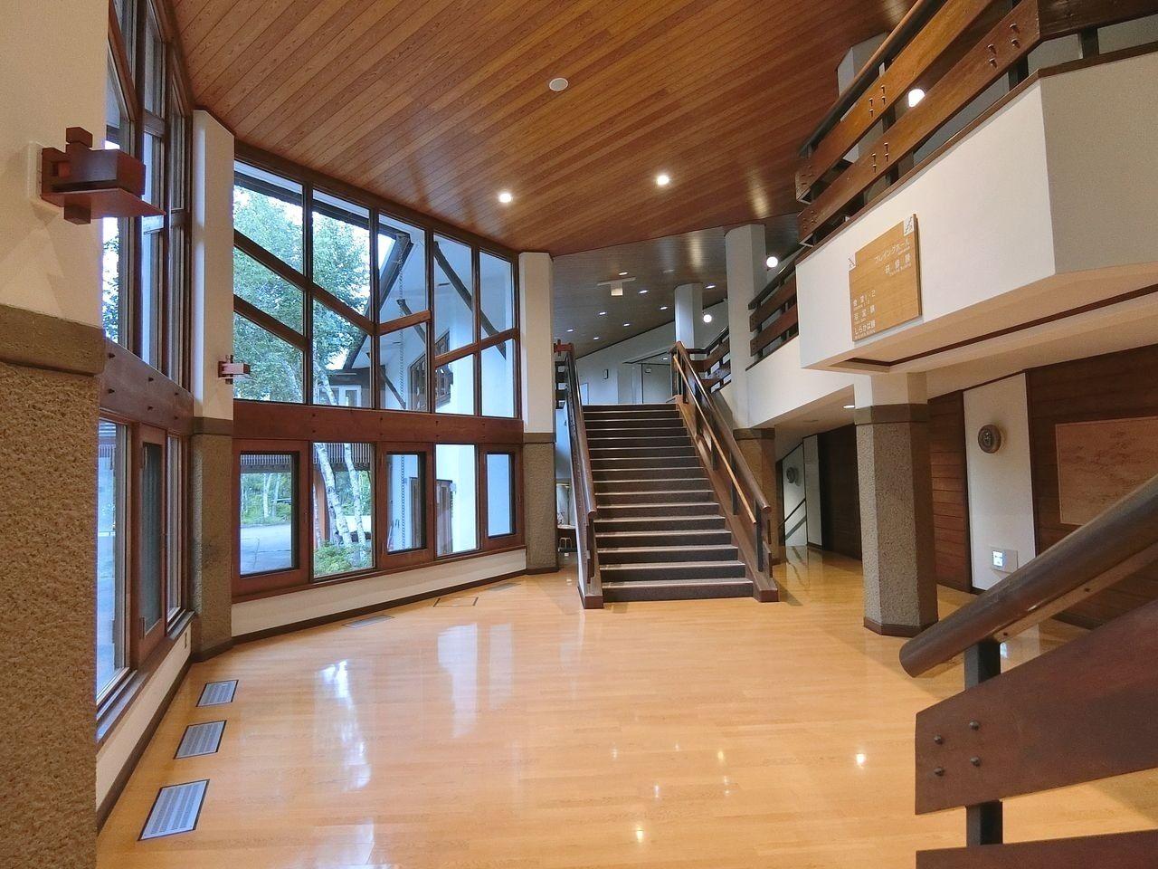 板橋区立八ヶ岳荘の団体用入口