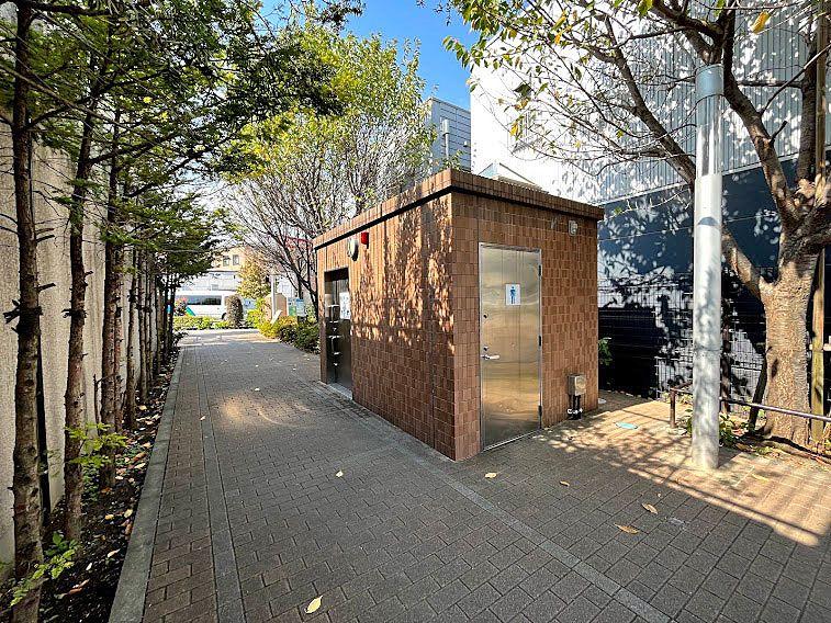 板橋区立大谷口公園のトイレ