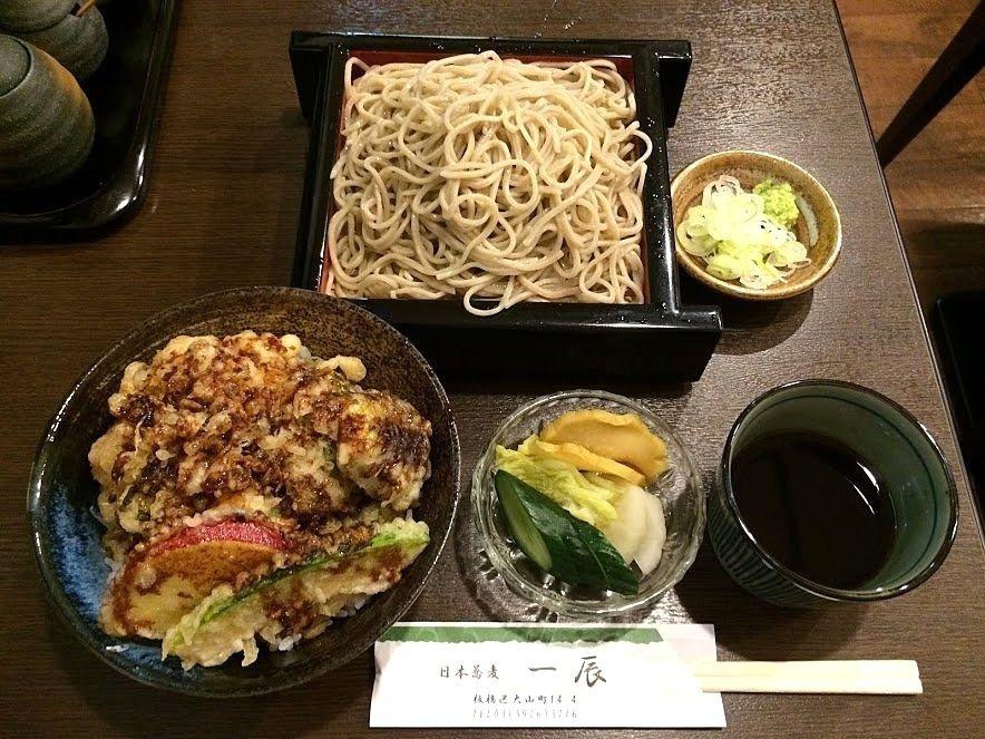 せいろそば&ミニかき揚げ天丼 1,000円
