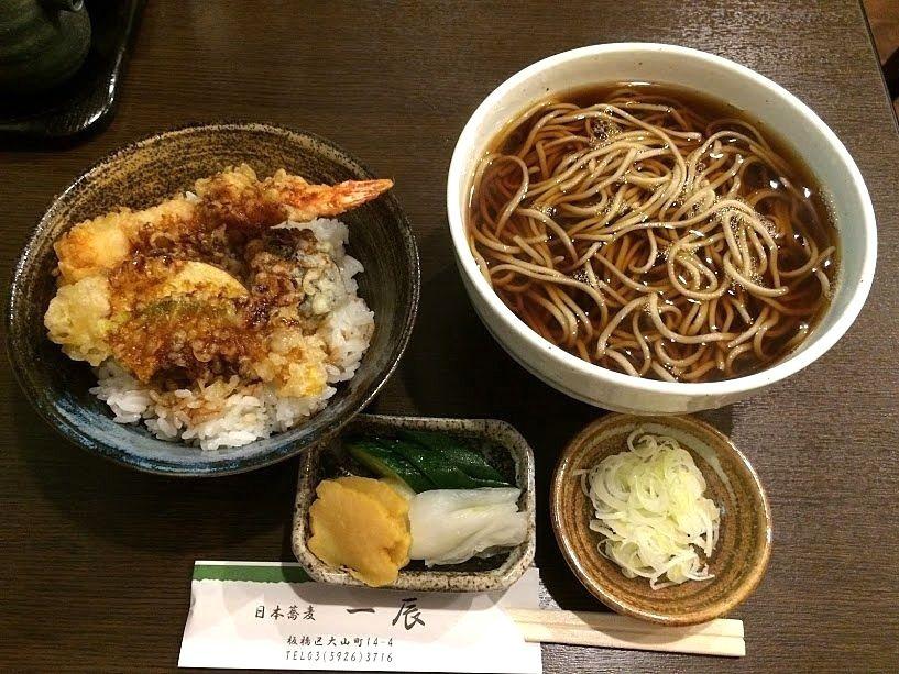かけそば&ミニ海老天丼 1,000円
