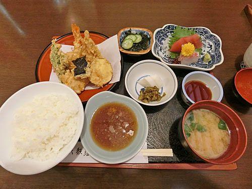 盛合わせ定食 1,000円