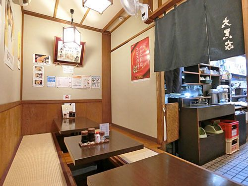 中板橋の大黒家で天ぷら
