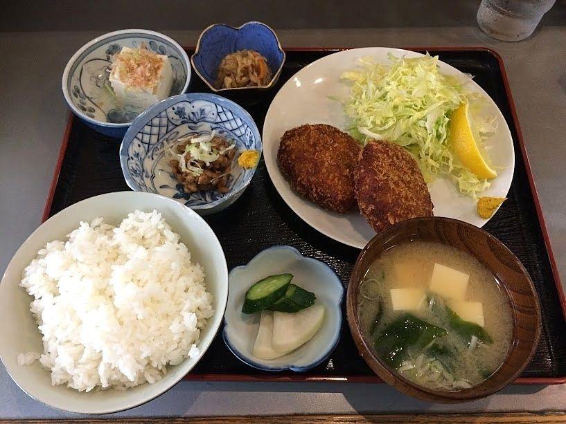 自家製メンチカツ定食 780円