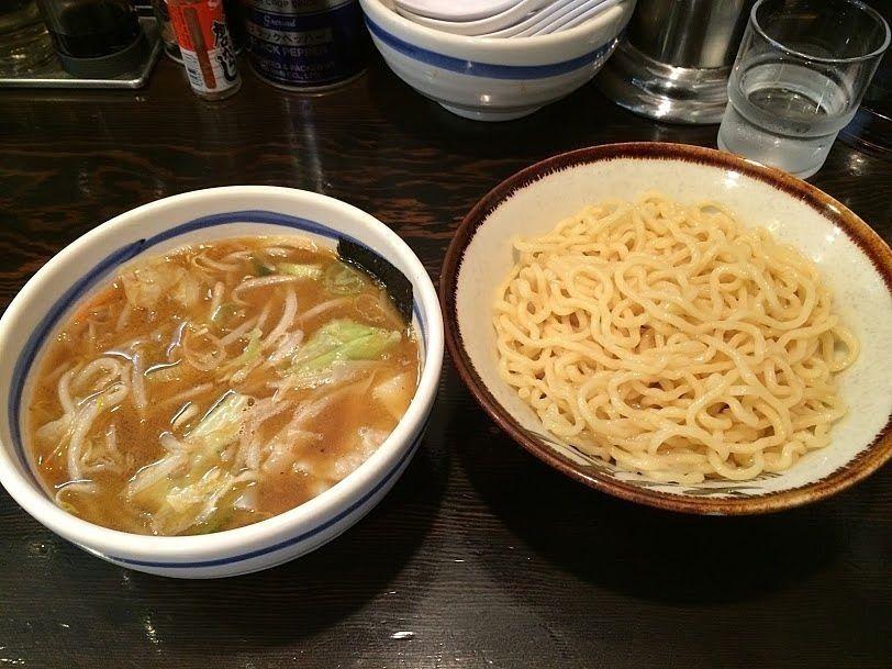 もり野菜(麺200g)820円