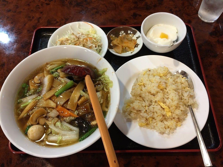 広東麺&チャーハンセット