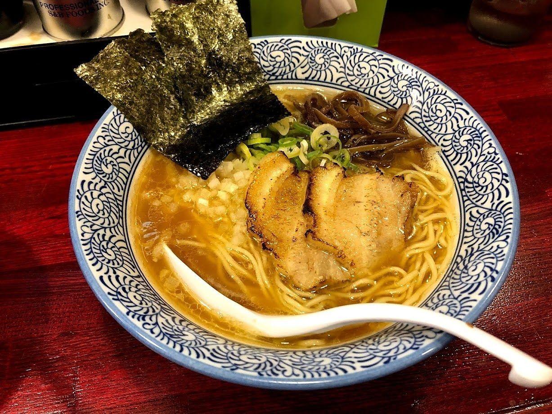 煮干し中華そば(醤油) 750円