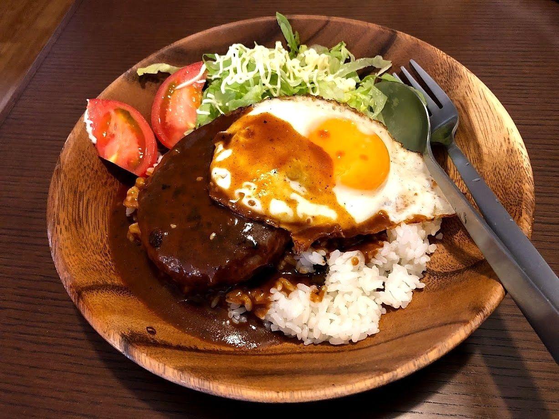 石垣牛ロコモコ 950円
