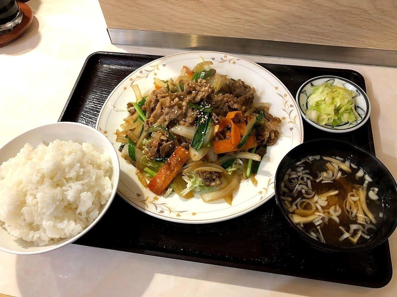 牛肉スタミナ焼 800円