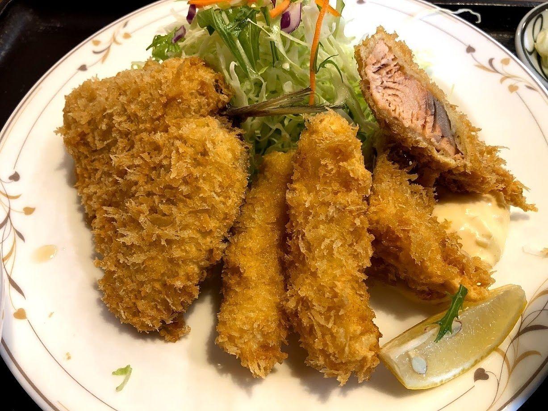 魚ミックスフライ 800円