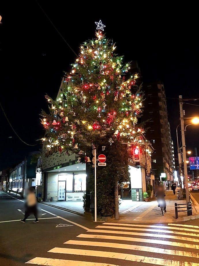 オオタニのクリスマスツリー