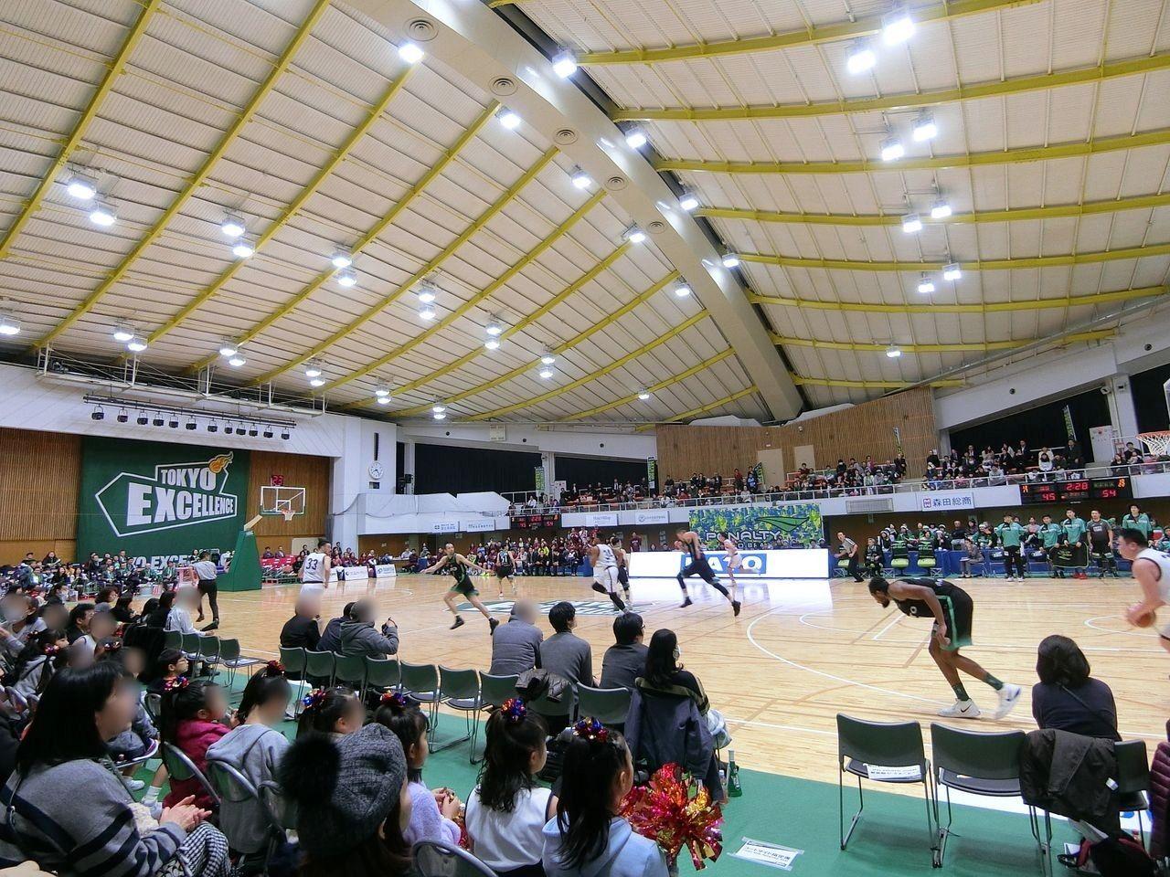 バスケットボールB3リーグ「東京エクセレンス」