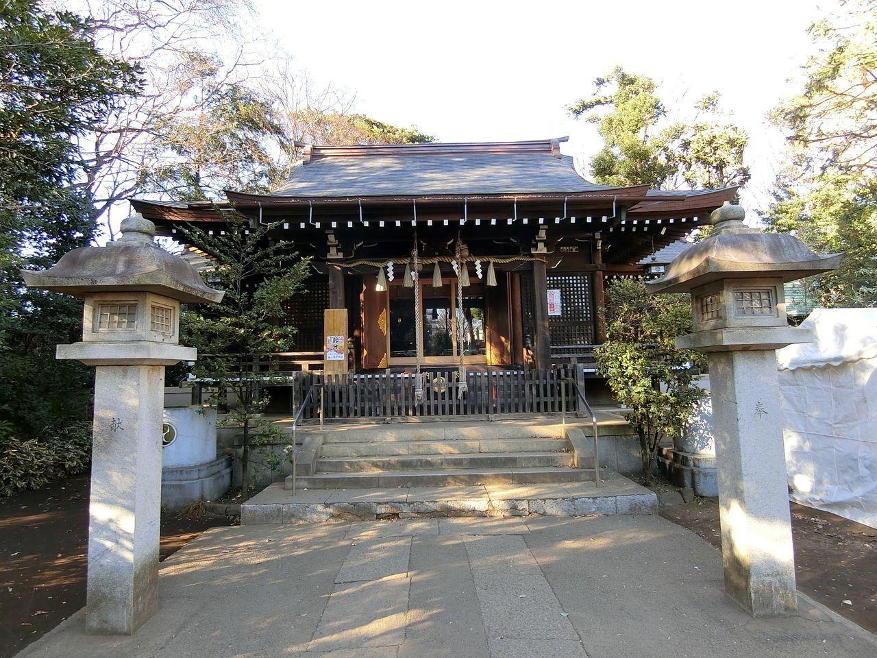 城山熊野神社(板橋区志村)の御朱印