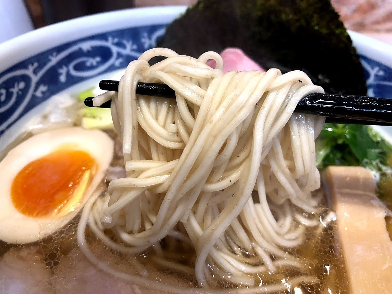寿製麺よしかわ西台駅前店の煮干そば白醤油 並 750円