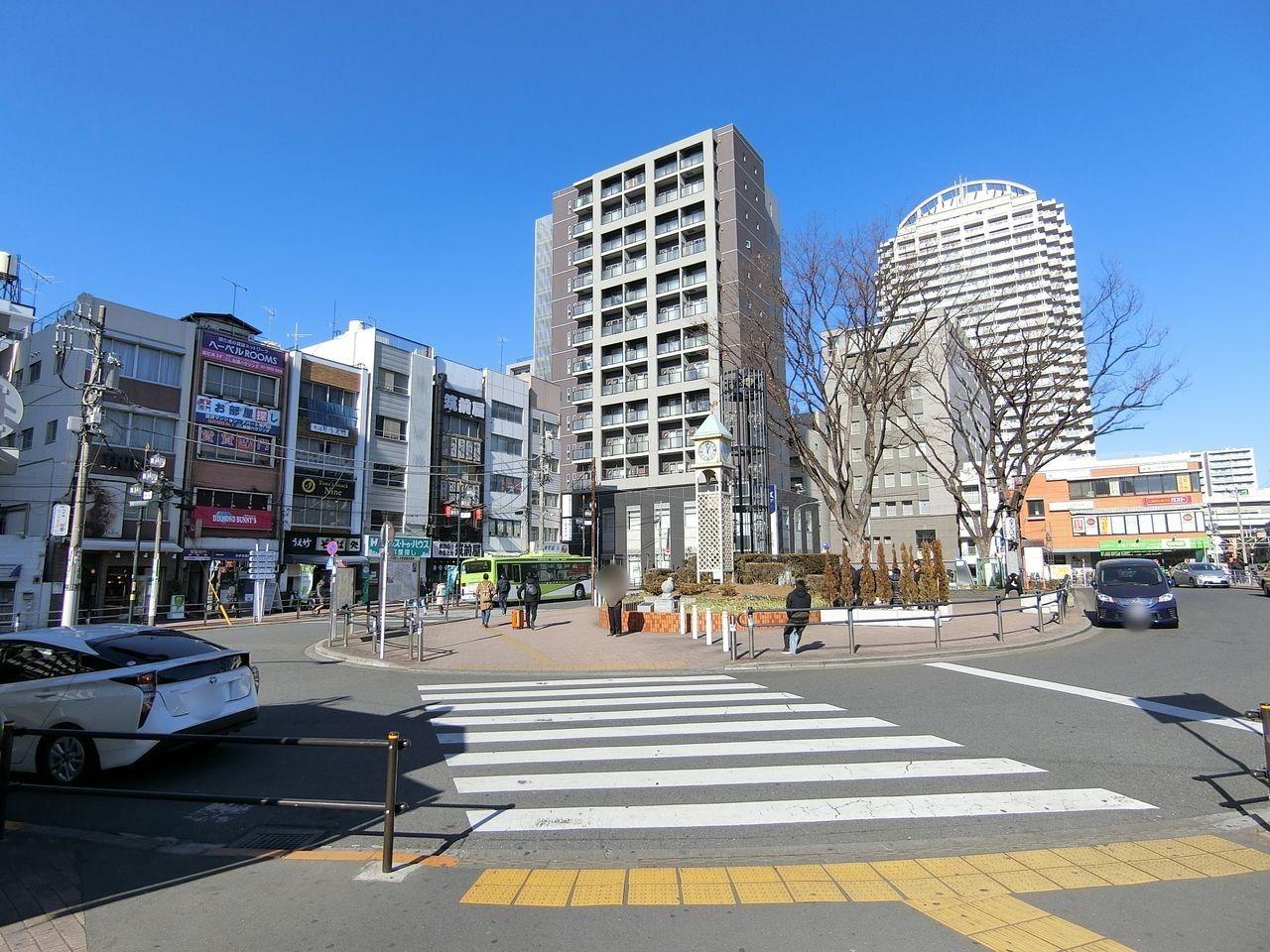 JR埼京線「板橋駅」西口前のロータリー