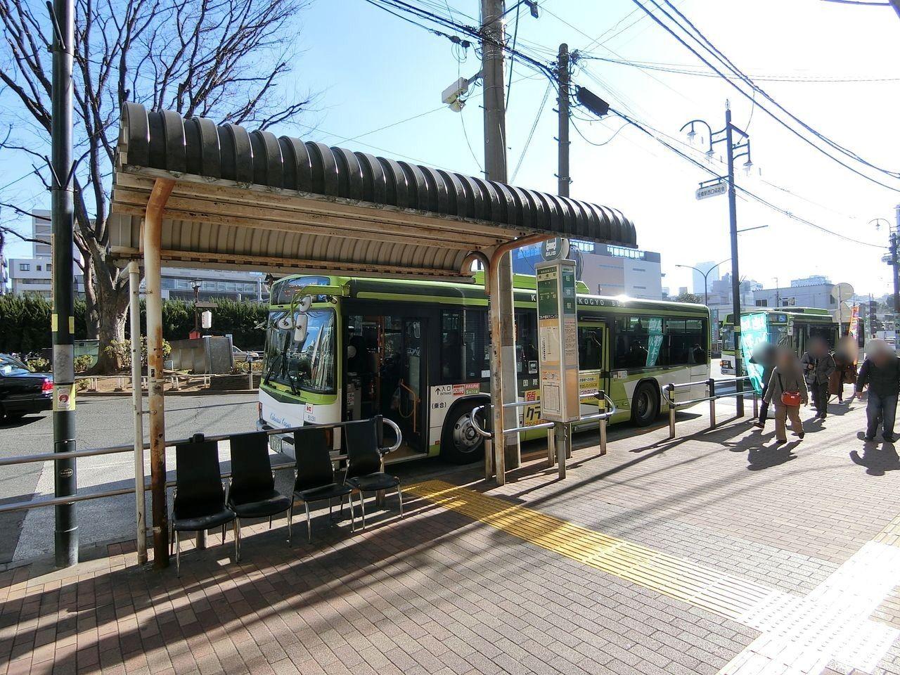 国際興業バスのバス停「板橋駅」