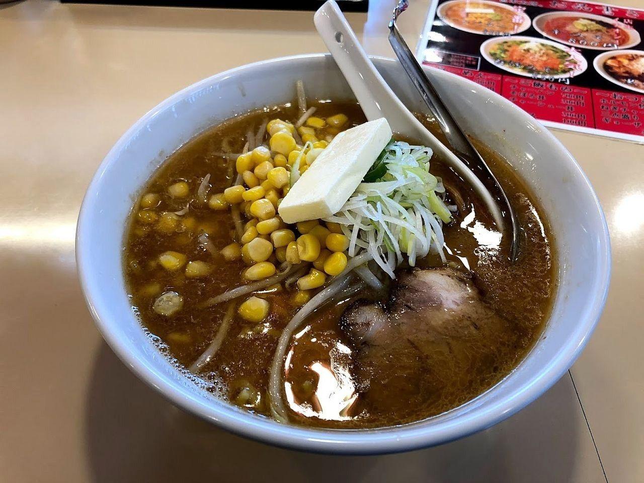 味噌らーめん(コーンバター)850円